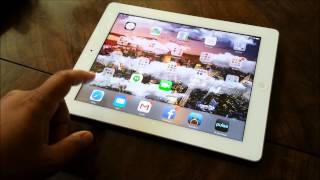 iOS 7 First Impressions on the iPad 3rd Gen