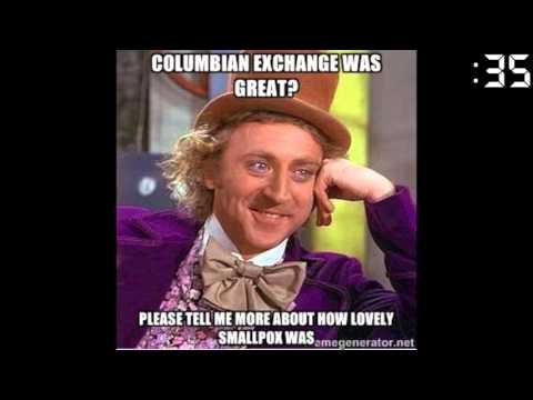 60 Seconds in History Columbian Exchange
