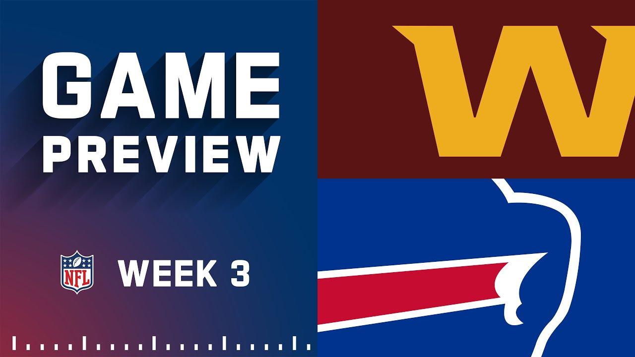 Download Washington Football Team vs. Buffalo Bills | Week 3 NFL Game Preview