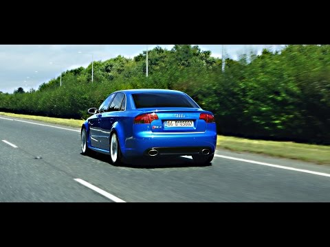 Audi RS4 | Milltek | Non res Start up, Revs & Fly by
