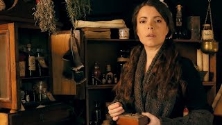 Meet the Apothecary | ASMR Roleplay (personal attention, bottles, lids, mortar, pestle & others)