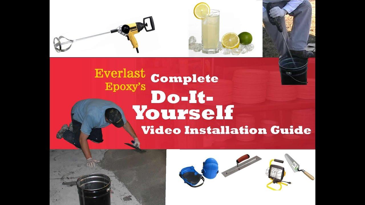Everlast Epoxy Flooring Installation How To Install