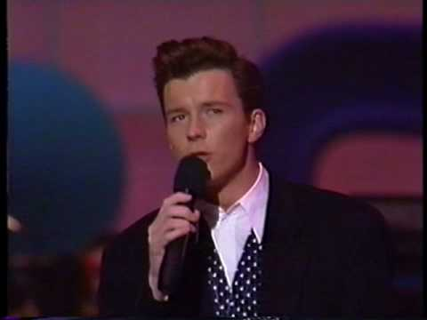 [HQ] Rick Astley - She Wants To Dance With Me (Live 1989)