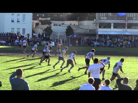 Scots v Newington 1stXV  [101-0] 2014 GPS rugby r4
