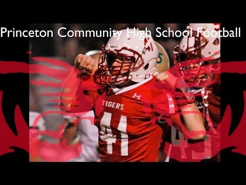 Princeton Community High School Football vs. Mount Carmel. Sept 11, 2015