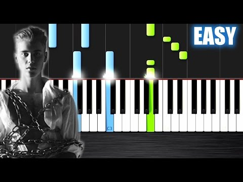 Justin Bieber  Purpose  EASY Piano Tutorial  PlutaX  Synthesia