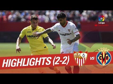 Resumen de Sevilla FC vs Villarreal CF (2-2)