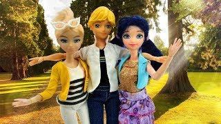 Леди Баг: Маринетт и Хлоя подружились. Видео для девочек.