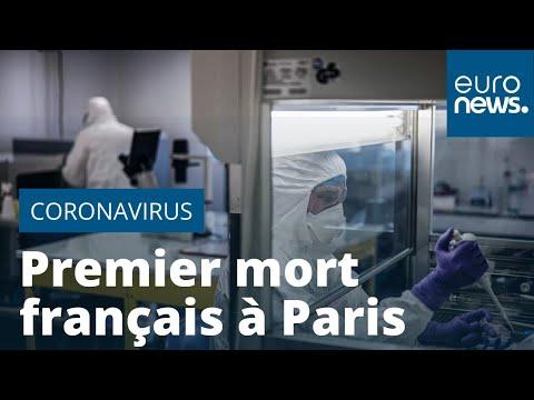 Un premier Français est mort du nouveau coronavirus à Paris: il s'agit d'un homme de 60 ans