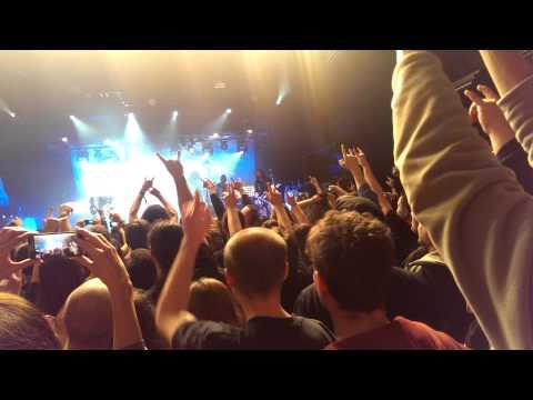 Sabaton - Resist And Bite + Joakim Plays Metallica On Guitar [live Bratislava 9.2.15]