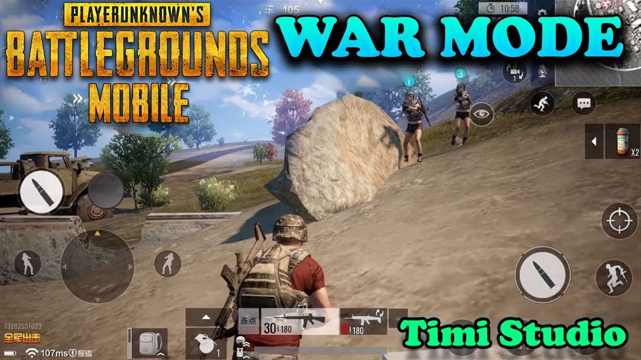 Pubg Mobile Timi Youtube: WAR MODE GAMEPLAY ( TIMI STUDIO )