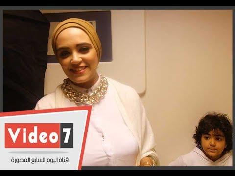مشاركة قريبة هانى البحيرى فى مسابقة ملكة جمال المحجبات  - 23:21-2017 / 11 / 12