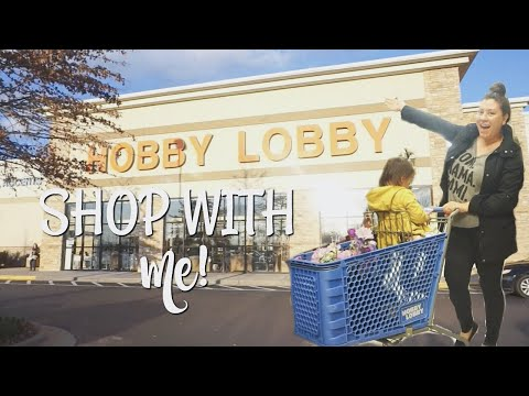 HOBBY LOBBY SPRING & EASTER DECOR SHOP WITH ME 2019!