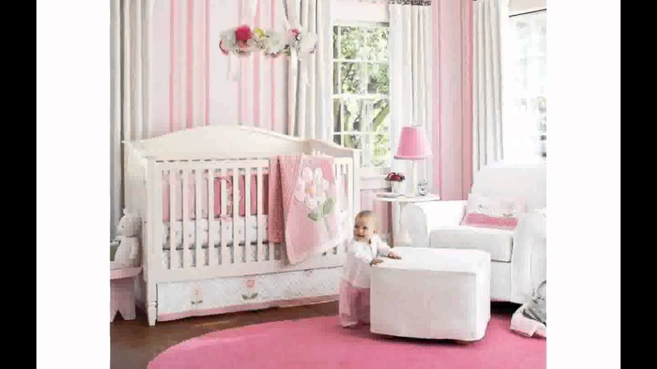 Girl Crib Bedding Sets - YouTube