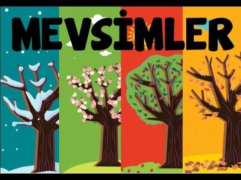 Mevsimler Ilkbahar Yaz Sonbahar Kış Ders Zili Tv Youtube