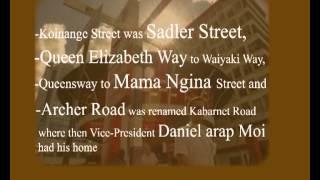 Fun Facts About Nairobi- Nairobi Street Names