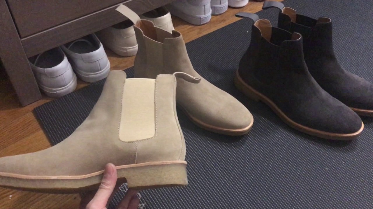 Common Projects And Mark Mcnairy Chelsea Boots Comparison