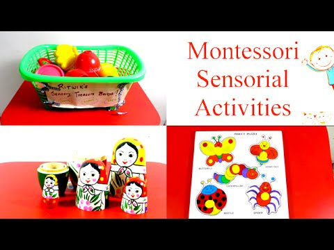 Montessori Sensory Educational Toddler Activities For Toddlers Preschoolers And Kids