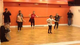 Aaja Nachle dance practice part 1