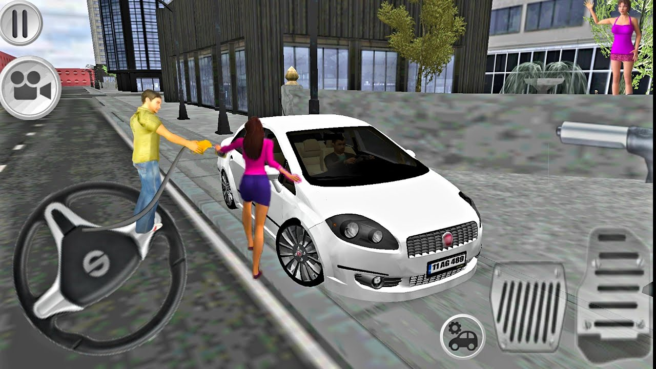 Fiat Linea Driving Simulator Araba Oyunlari Fhd Youtube