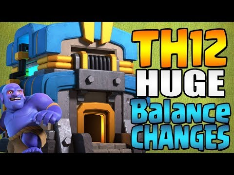 TH12 UPDATE HUGE BALANCE CHANGES COMING!!! Sneak Peak #3 | CHEAPER WALLS!? | Clash of Clans