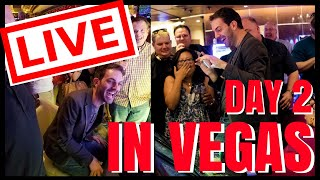 🔴 LIVE Casino Playing in VEGAS ✦ Can we beat yesterdays? ✦ Slot Machines with Brian Christopher