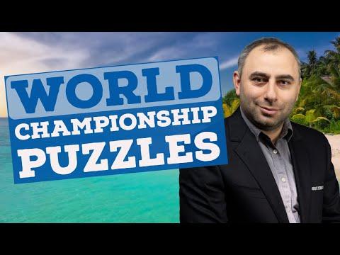 World Championship Puzzles | Puzzler's Paradise - GM Varuzhan Akobian