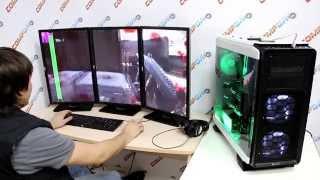 Тестирование Skynet PC [5930K, GTX 980 SLI] В 4K, на 3 мониторах