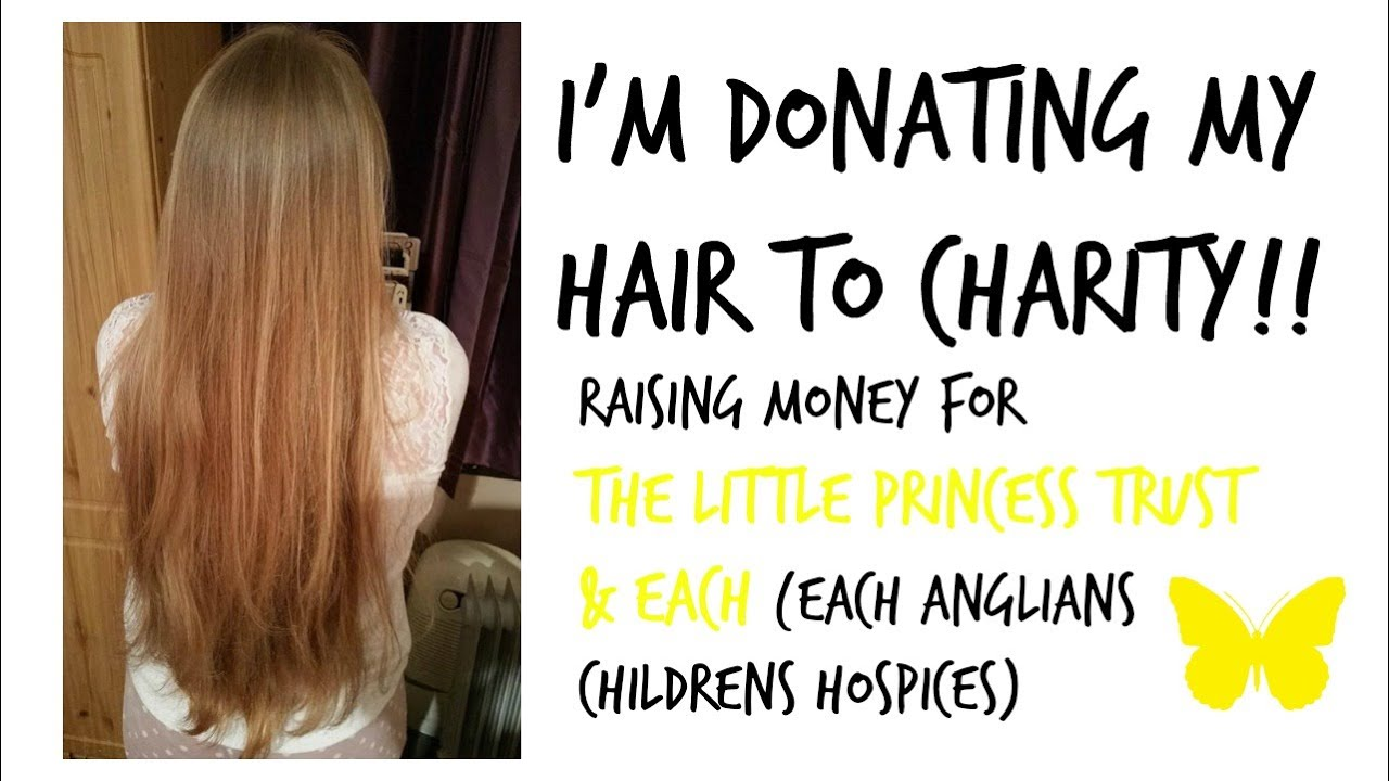 I'm Donating My Hair To Charity!!! // Velvet Hearts ...