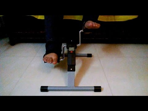 Mini Cycle Pedal Exerciser - Mini Bike / Bicycle For Home Workout For Legs & Hands [HD VIDEO]