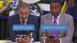 MJ vs LeBron - FS1 Group Text | FS1 | FOX SPORTS