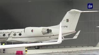 إقلاع طائرة من سويسرا يعتقد أنها تقل الرئيس الجزائري - (10-3-2019)