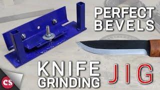 Knife Grinding Jig - DIY PERFECT BEVELS