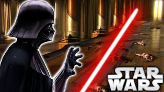 How Darth Vader Returned to the Jedi Temple and Everything He Saw - Star Wars Explained