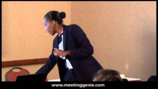 Meeting Ice Breaker (Corporate Trainer Dana Brownlee)