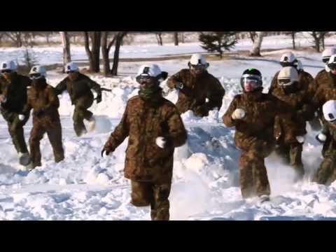 Marines Redefine Snow Ball Fight Alongside Japanese Ground Self Defense Force