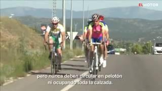 Así debe circular un pelotón ciclista | EL MOTOR