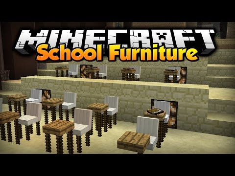 Minecraft: School Furniture [Custom Command]