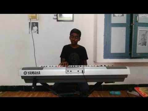DJ movie song Gudilo Badilo Piano Cover by Sai Harshith From Raag And Rhythm