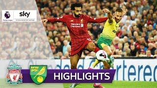 FC Liverpool - Norwich City 4:1 | Highlights - Premier League 2019/20