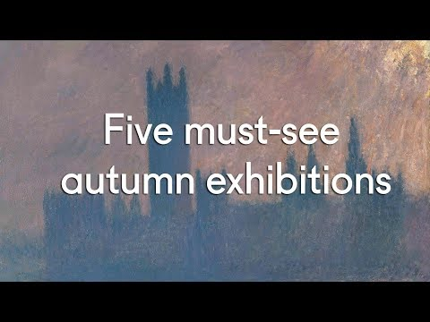 Five must-see autumn exhibitions 2017