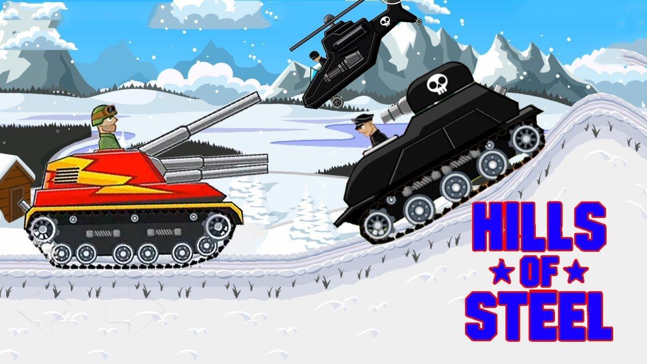 Hills of steel Mod apk - Titan tank - Tanks for kids - Games bii