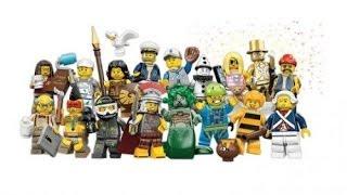 Lego Обзор минифигурок  из 10 серии (Пейнтболист и дама с собачкой)(Минифигурки лего Костя Smileman (создатель Города Х и легомультиков ) http://vk.com/smileman19 Мультики из Lego., 2013-05-03T17:02:45.000Z)