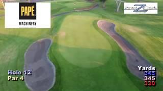 Zintel Creek Golf Club | Hole 12 | Pape