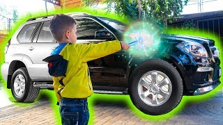 Tema and stories about Magic toys tools ride on toy Cars thumbnail