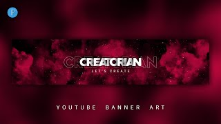 How To Make a YouTube Banner Art on Android using PixelLab screenshot 5