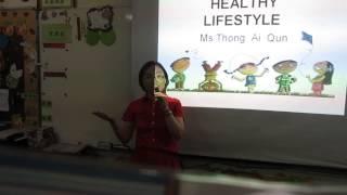 Healthy lifestyle speech -