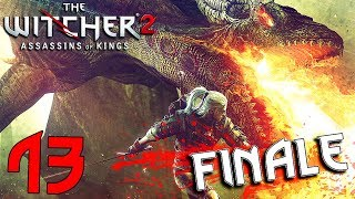 THE WITCHER 2. Part 13 ENDING: A Summit of Mages, Enter the Dragon, Answers to all Questions