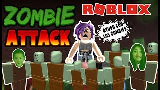 ZOMBIE ATTACK ROBLOX Zombie Attack on Roblox Zombie Attack In Spanish