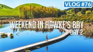 WEEKEND IN HAWKE'S BAY. DAY 2 /// VLOG #76